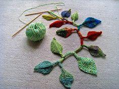 Mountain Laurel Leaf pattern by Bonnie Sennott