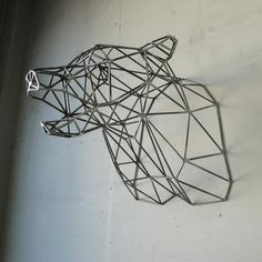 wire frame taxidermy by doreen