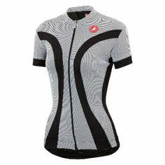 8232276b7 Castelli ipnosi jersey FZ zwart wit dames 14053-101 2014