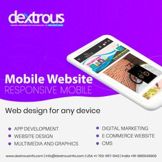 It is mobile friendly and the website can be efficiently executed by mobiles. It is a preferable sales tool for your business to get the required product to the customer anywhere, anytime. Web Development Agency, Design Development, Mobile Web Design, Mobile Responsive, Web Design Agency, Digital Marketing Services, Mobiles, Ecommerce, Website