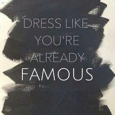 @FashionWorldInt #quotes #fashion #famous #well dress