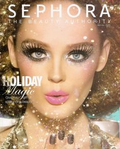 Sephora Holiday-glitter-makeup