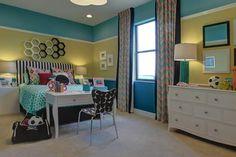 Girl or Teenager room... obviously for a #soccer star! :: M/I Homes of Tampa: Terra Largo - Corsica Vi Bonus Hlm Model