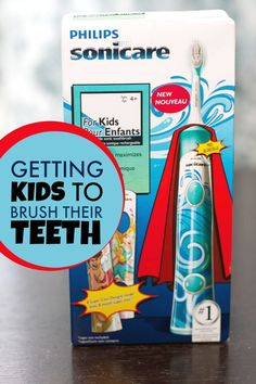 Best Electric Toothbrush for Kids #SonicareForKids @ParentsCanada