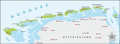 Ostfriesische Inseln Wattenmeer