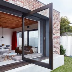 Red brick house modern - House and home design
