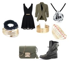 """""""Untitled #67"""" by r-m-teitter on Polyvore featuring Mela Loves London, Furla, H&M, Lane Bryant and Bling Jewelry"""