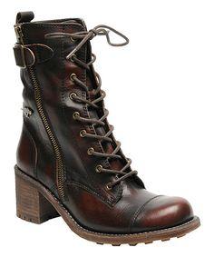 Look at this #zulilyfind! Rocket Dog Chocolate Burnout England Leather Boot by Rocket Dog #zulilyfinds