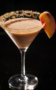 {Thirsty Thursday} The Peaches and Scream   Drink and image courtesy of Drink of the Week