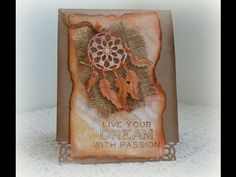 Spellbinder InSpire Dream Catcher Cards
