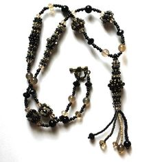 Elegant necklace Beaded necklace Handmade necklace Beads