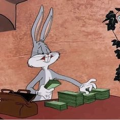 Discover & share this Looney Tunes GIF with everyone you know. GIPHY is how you search, share, discover, and create GIFs. Cartoon Wallpaper, Cute Disney Wallpaper, Cartoon Cartoon, Cartoon Characters, Looney Tunes Bugs Bunny, Looney Tunes Cartoons, Vintage Cartoons, Classic Cartoons, Money Animation