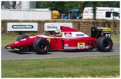1993 Ferrari F93A F1. Goodwood Festival of Speed 2005