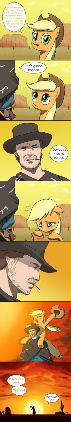 Applejack's dream by doubleWbrothers.deviantart.com on @deviantART