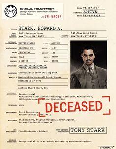 S.H.I.E.L.D. Files - Marvel Cinematic Universe Wiki