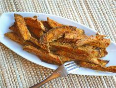 "Yum! Sweet Potato ""Fries"" from @RickiHeller"