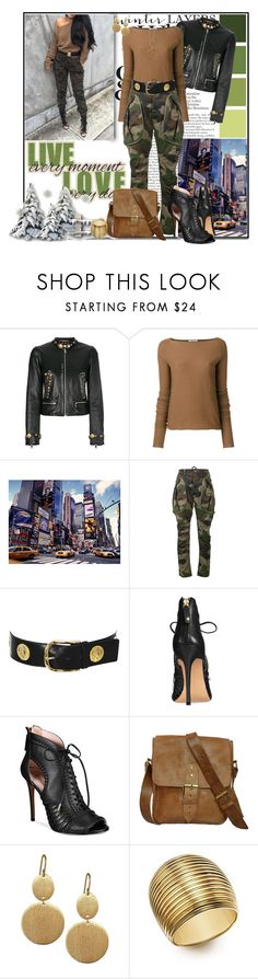 """Winter Casual #3"" by msmith801 ❤ liked on Polyvore featuring Dolce&Gabbana, DuÅ¡an, Faith Connexion, Yves Saint Laurent, Avec Les Filles, Stephanie Kantis, Roberto Coin and Pilgrim"