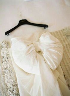 Lanvin wedding dress - bow detail