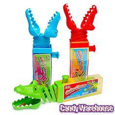 Gator Chomp Candy Lollipop: 12-Piece Box