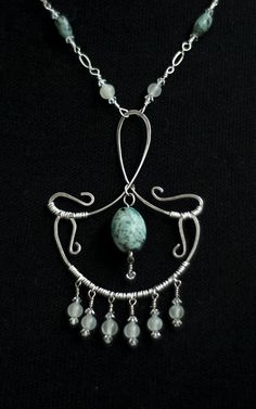 Art deco look necklace