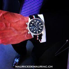Chronograph Modern on NATO. Swiss made watch from Maurice de Mauriac #watchesformen