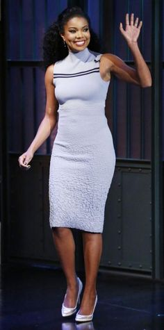 Look of the Day - February 06, 2015 - Gabrielle Union from #InStyle
