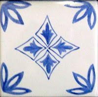 Azulejado: Azulejos pintados a mano