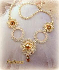 Два свадебных украшения | biser.info - всё о бисере и бисерном творчестве