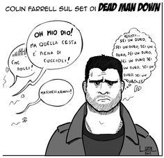 LutisArts: Colin Farrell: è dura essere un duro