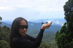 Cable  Car at Genting Highlands, KL, Malaysia
