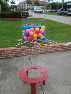 Home made games for bbq