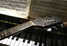 piano and guitar...two instruments I will always have in my house.