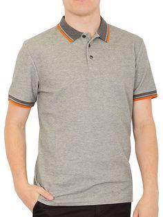 Stripe Collar Pique Polo Uniform Ideas 99fda1d5797