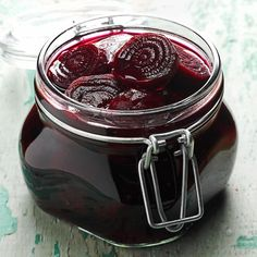 Pickled Beets Recipe -The beets my mother made came from our garden and were canned for the winter months. Even as a child I loved beets because they brought so much color to our table. —Sara Lindler, Irmo, South Carolina