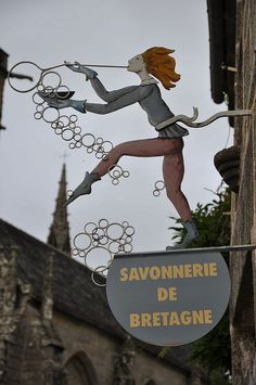 Savonnerie de betagnes ~ (Soap Factory of Brittany) in Brittany ~ France