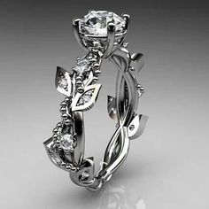 loooooove this. I don't need an engagement ring anymore... but if I did, I'd want this one.