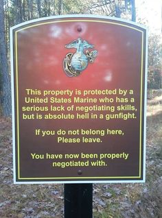 How Marines are taught to negotiate...we ALL need this attitude.