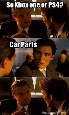 'Tis that time of year. Car memes 11/25/13.