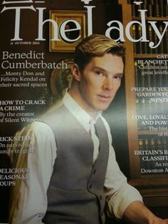 The Lady is also a part of the Cumber Collective. Benedict Cumberbatch 4 lyf!