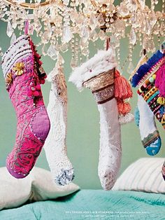 free people stockings...to make for me and Ben :)