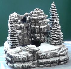 How to build a Winter Waterfall!