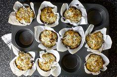 Double coconut muffins -Smitten Kitchen.