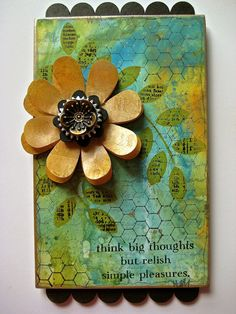Studio 490: distress paints tutorial... http://www.studio490art.blogspot.com/2013/04/distress-paints-tutorial.html