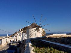 Windmill, Hora, Serifos Island, Greece