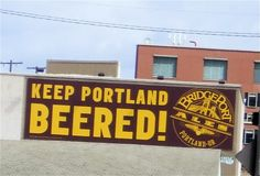 The City of Portland, as of 2011, has 40 microbreweries within city limits. That's more than any other city IN THE WORLD.