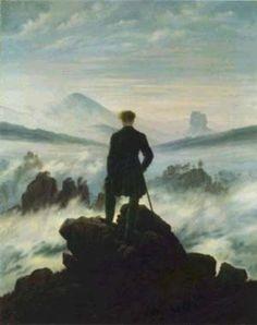 The Wanderer Above the Sea, 1818, Casper David Friedrich