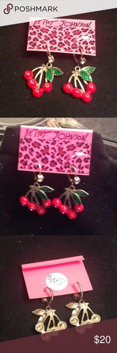 Jewelry - Earrings Authentic Betsey Johnson Earrings purchased @ boutique whose owner is retiring - I purchased BJ items in bulk @ a good price & now I am passing my savings to you.  See photos.  BNWT. Betsey Johnson Jewelry Earrings