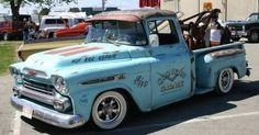 1959 Chevrolet cars   1959 Chevy Apache Pickup Rat Rod Truck