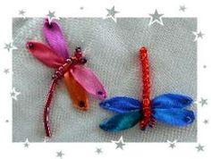 Silk ribbon · Needlework News | CraftGossip.com #Ribbon embroidery #Crafts #@Af's