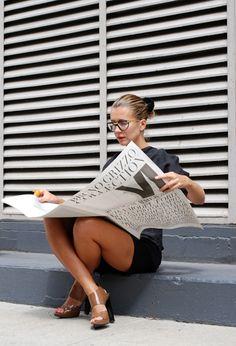 Newspaper Girl